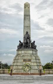 Rizal Monument in Luneta.